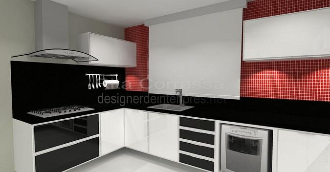 02 cozinha moderna com vidro branco e preto
