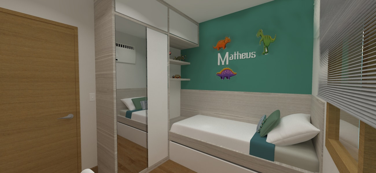 Dormitório do menino projeto