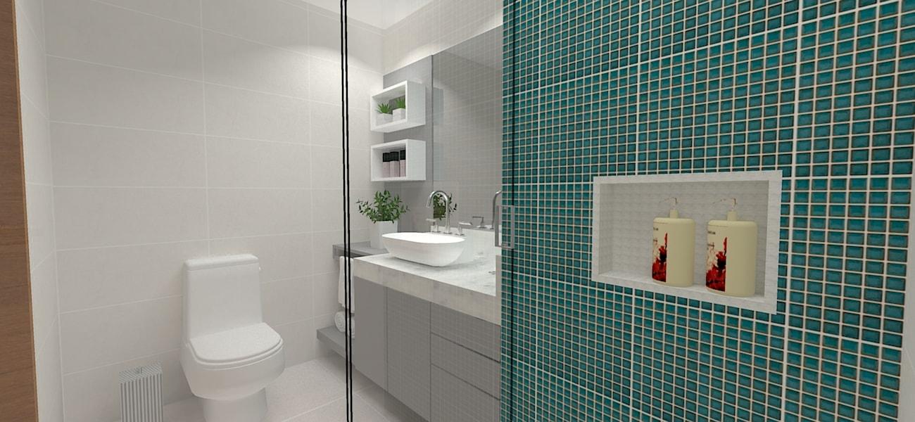 Projeto de banho social  contemporâneo