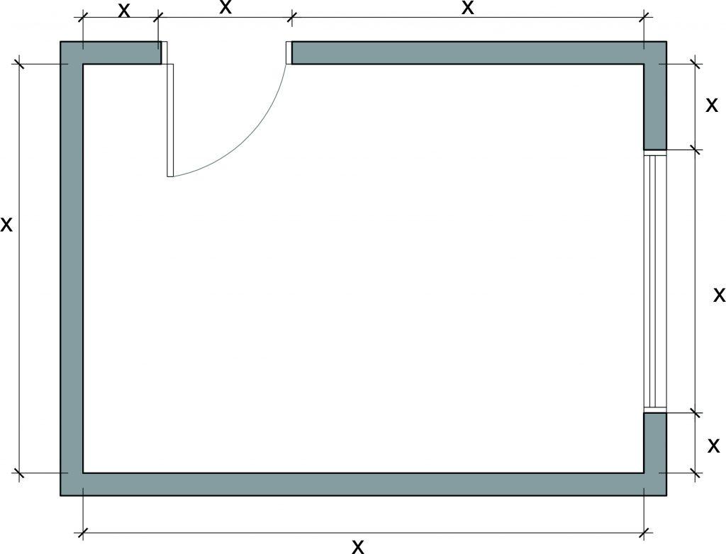como medir o espaco para o projeto de decoracao